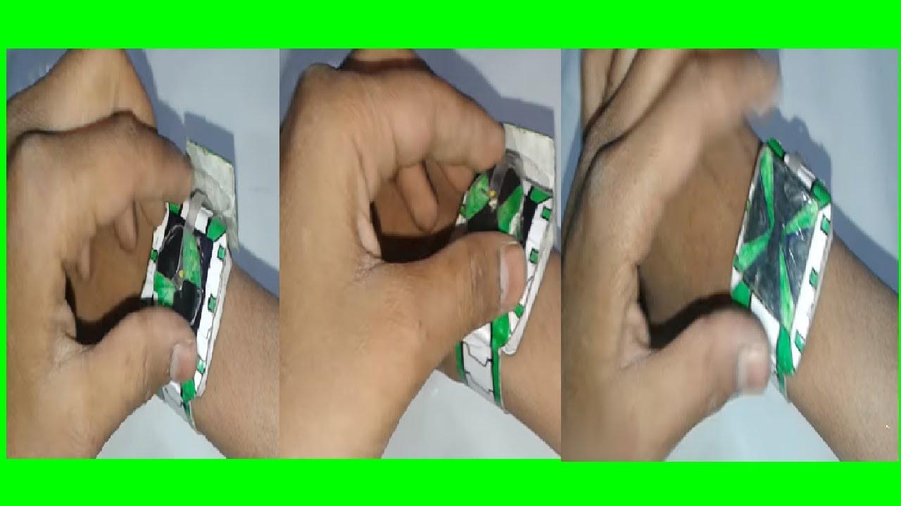 Как сделать из бумаги часы бен 10 фото 377