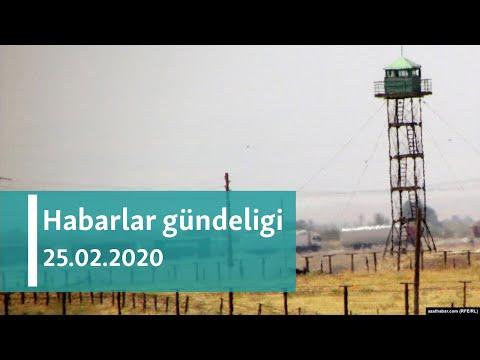 Habarlar Gündeligi - 25-nji Fewral, 2020-nji ýyl
