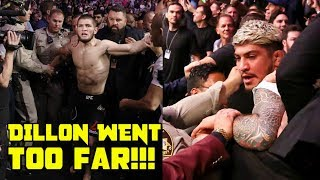 Witness reveals what Dillon Danis said to Khabib Nurmagomedov after Conor McGregor fight at UFC 229