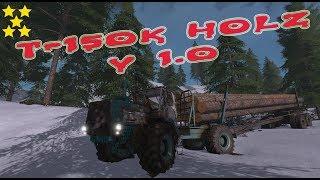 """[""""T-150K Holz"""", """"Mod Vorstellung Farming Simulator Ls17:T-150K Holz"""", """"T-150K""""]"""