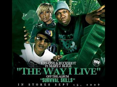 BUCKSHOT & KRS ONE ft Mary J Blige - The Way I Live (prod black Milk)