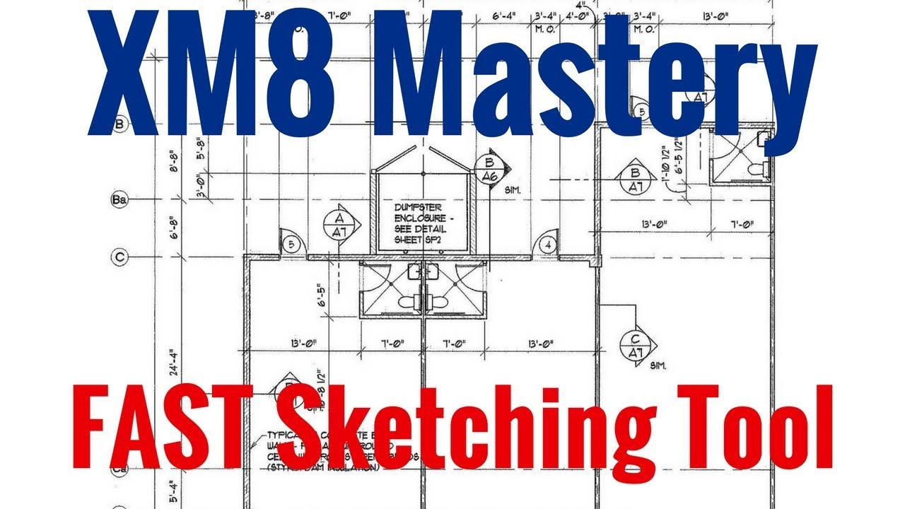 Fastest Way To Sketch by XM8 Mastery