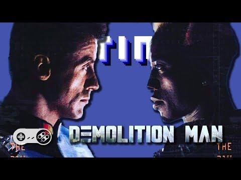 Demolition Man (SNES) - Continue?