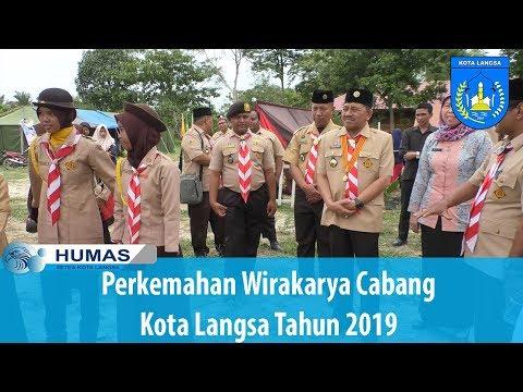 Perkemahan Wirakarya Cabang Kota Langsa Tahun 2019
