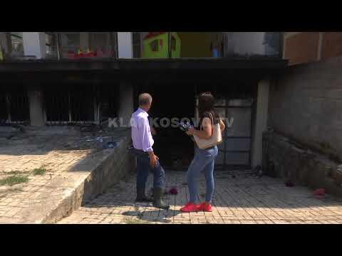 Digjet kopshti dhe depoja në Prizren - 15.08.2017 - Klan Kosova