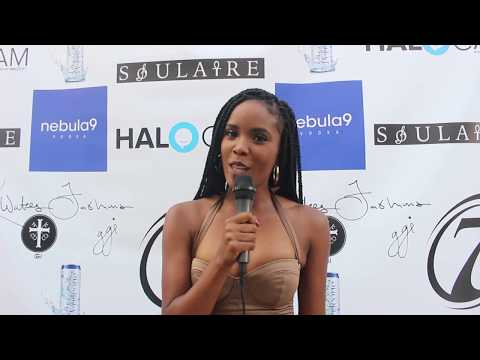 Our Young, Bold, And Correspondent Ashley Allen  At The SoulSlayze Fashion Show!