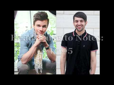 Chris Colfer vs Mitch Grassi: Tenor Battle