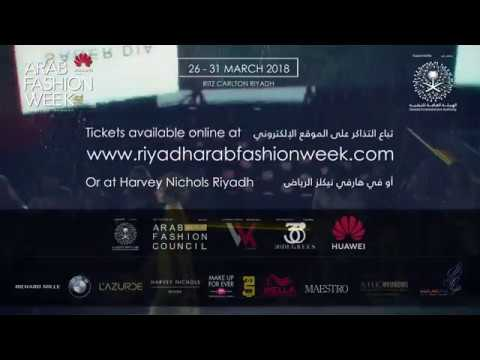 ARAB FASHION WEEK - RIYADH