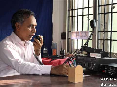 All India Radio Tamil News  - Ham VU3KVB - Balu Saravanan