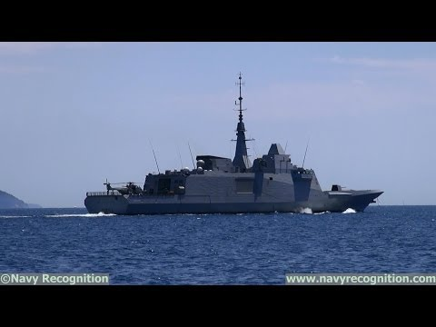 On board FREMM Normandie Next Generation Multi Mission Frigate