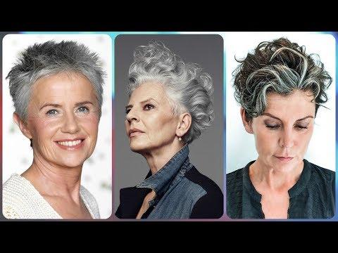 Tutorial taglio capelli corti signora anziana