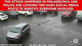 Sledgehammer road rage attack caught on camera