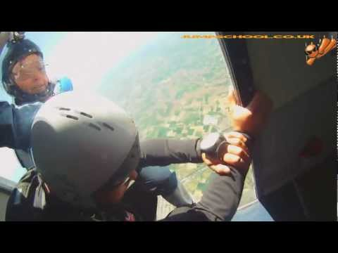 Dan Patterson Learning to Skydive with JumpSchool