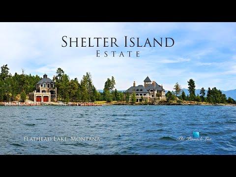 Shelter Island Estate - Flathead Lake, Rollins, MT, USA - Panoramic Views