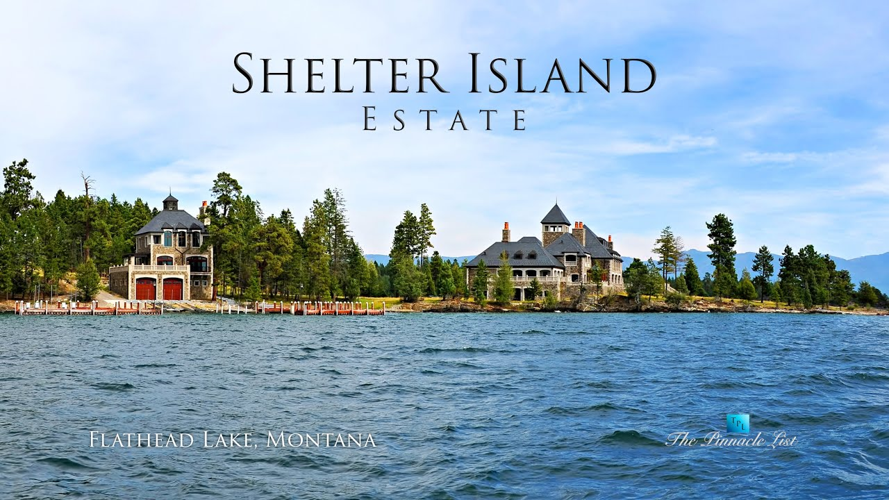 Flathead Lake | Shelter Island Estate Flathead Lake Rollins Mt Usa Panoramic