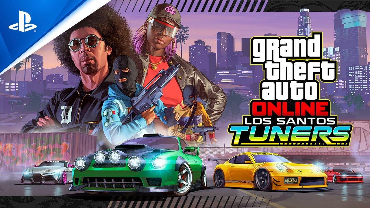 PS4《GTA 在线模式》洛圣都改装车 | 现已推出