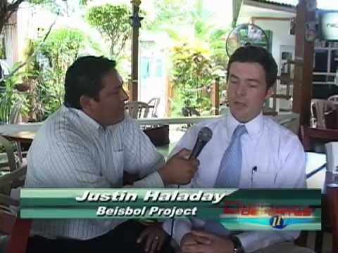 TV News Interview (High Quality) - Managua, Nicaragua - Project Beisbol