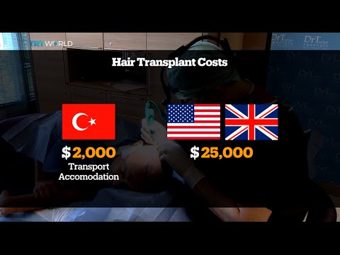 Turkey becomes one of the top countries to offer hair transplant service