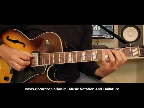 Jazz Guitar Etude #9 - Blues in F