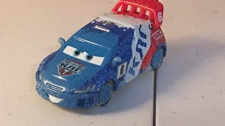 Disney Cars Ice Racer Raoul Caroule diecast review