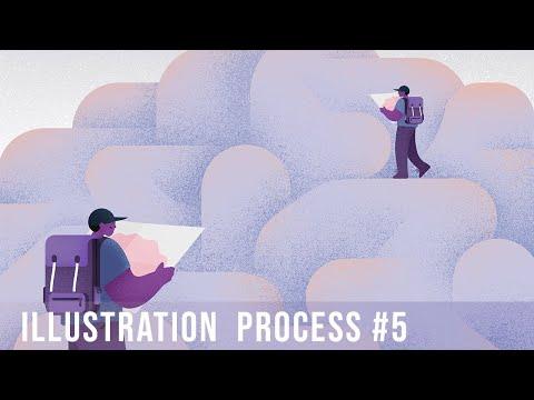 Grain & Texture | Illustration Process #5