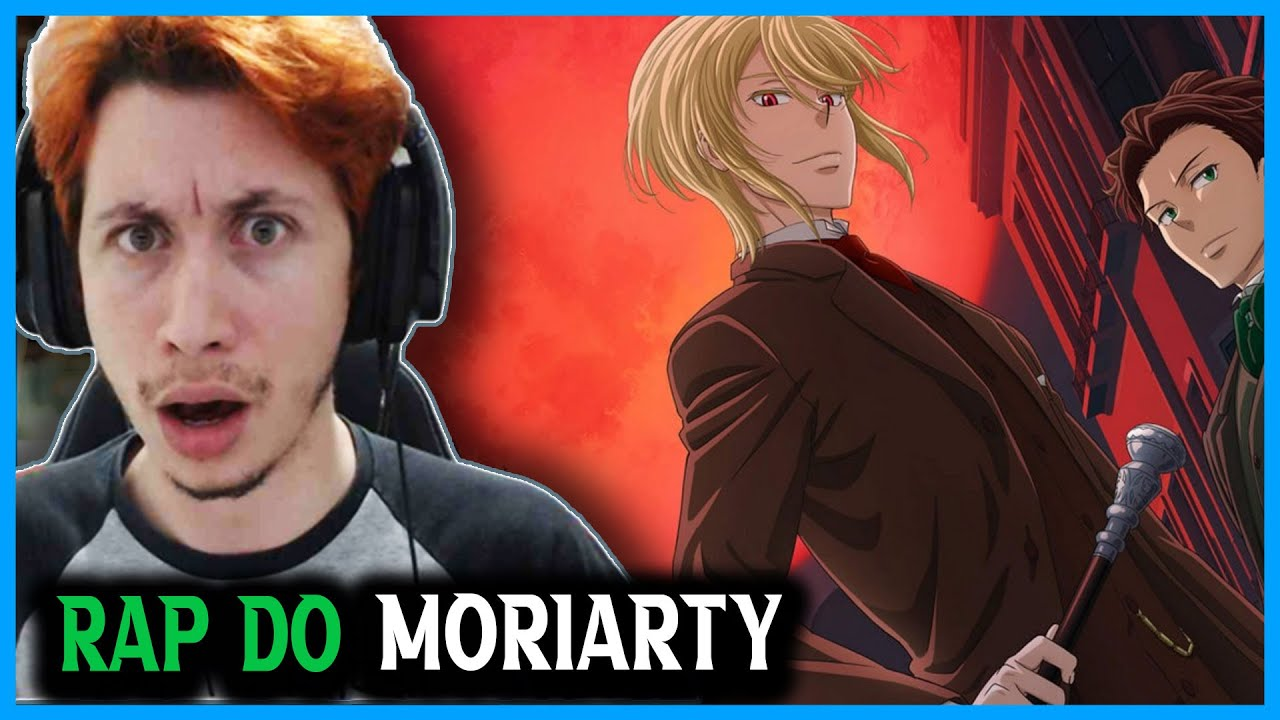 REACT Rap do Moriarty (Yuukoku no Moriarty) | Senhor Do Crime | @Basara