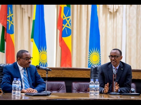 Press Conference with Prime Minister Hailemariam Desalegn and President Kagame