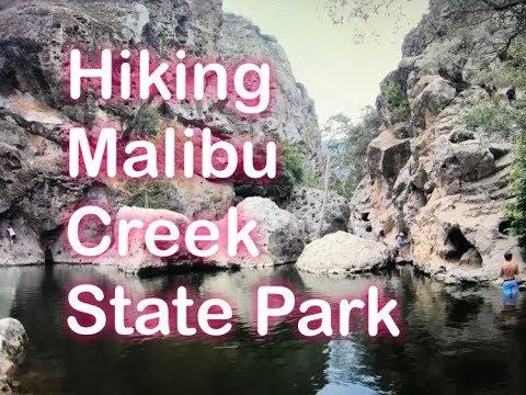 Hike threw Malibu Creek California