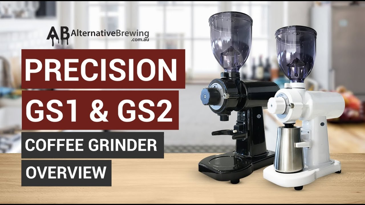Precision GS1 & GS2 Coffee Grinder Overview