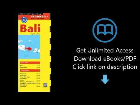 Bali Travel Map Eighth Edition (Periplus Travel Maps)