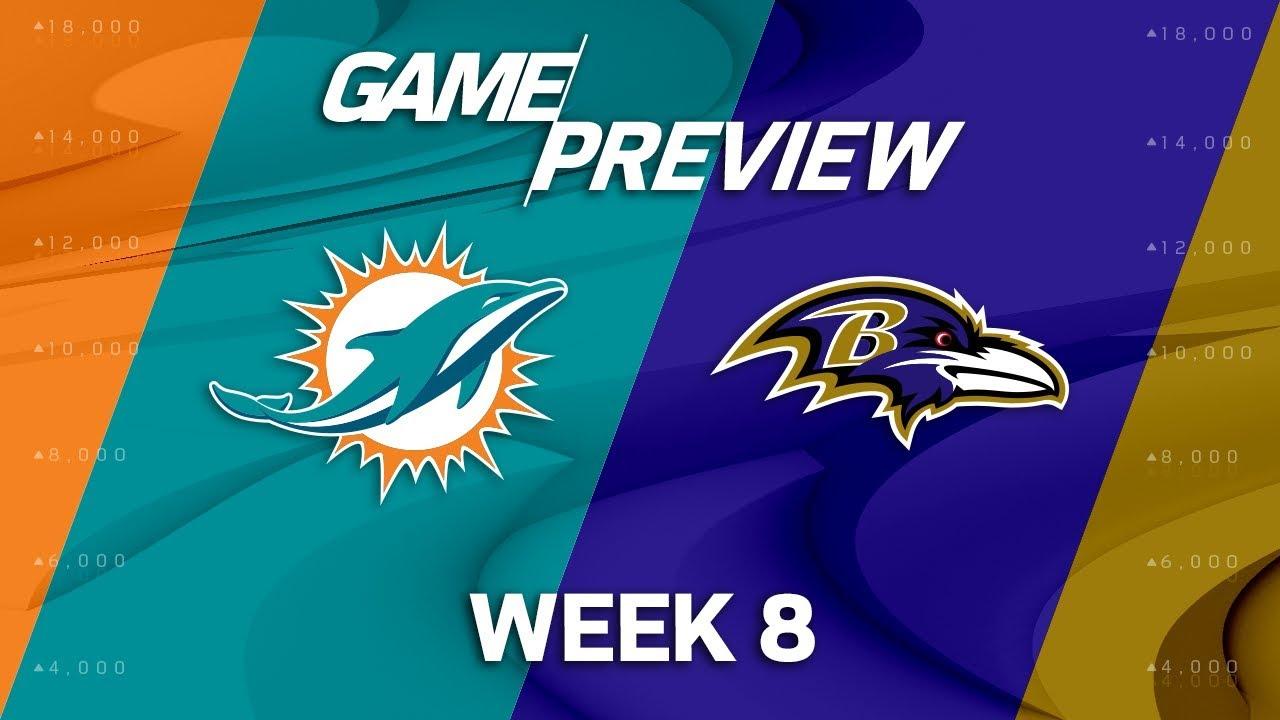 Miami Dolphins vs Baltimore Ravens: Thursday Night Football live updates ...