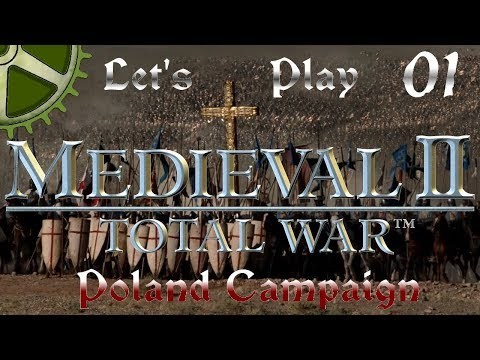 Let's Play: Medieval 2 Total War - Poland campaign - part 01: Fresh Start!