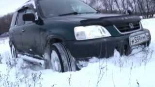 Honda CR-V (RD1) test snow