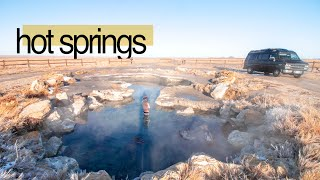 the last of vąn life Utah | hot springs and zion