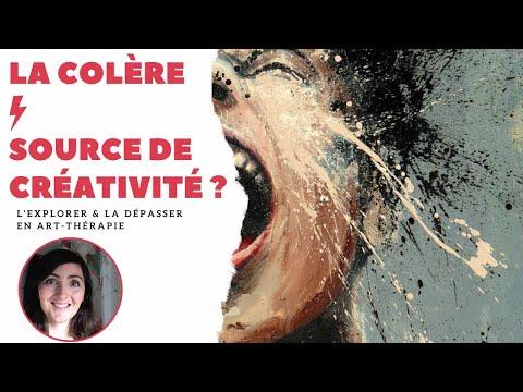 La Colère : La Traverser En Art-thérapie.