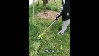 잔디 깍는 기계 벌초 예초기 깍기 충전식 무선 재초기