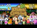 Animal Crossing: New Leaf – Day 41 : Part A – Oct. 14 – This Little Piggy Went Home!