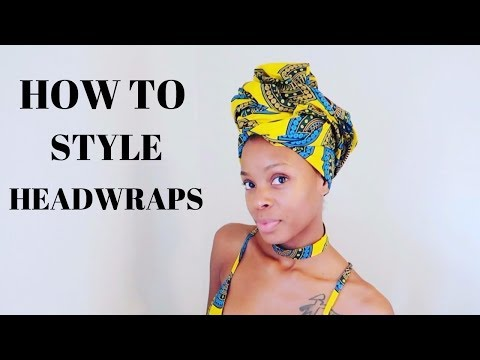BEST HEADWRAPS EVER | African Clothing Try On | AfroAccessories