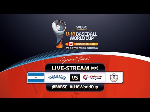 Nicaragua v Chinese Taipei - WBSC U-18 Baseball World Cup 2017