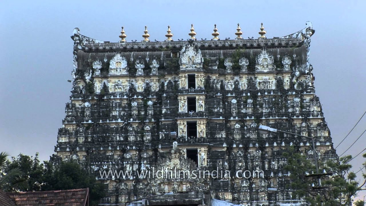 Sthanumalayan Temple: an important Hindu temple located in Suchindram