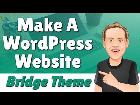 Bridge creative multi-purpose wordpress themes