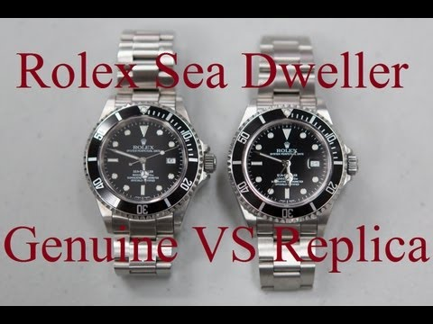 Fake VS Real Rolex Sea Dweller