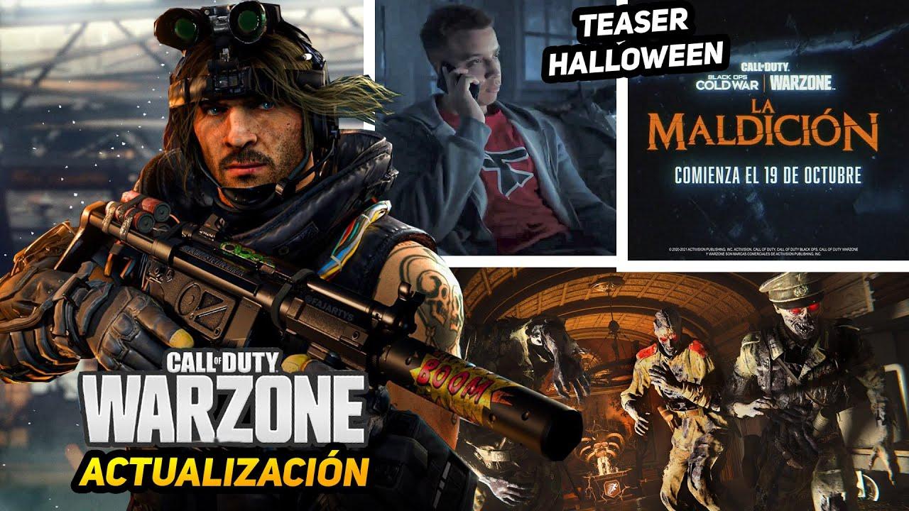 Download Actualización en WARZONE, TEASER del EVENTO HALLOWEEN, Zombies y más - Alka593