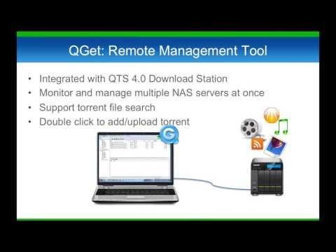 "Download Station - Your 24/7 download center ""QNAP QTS 4.0"""