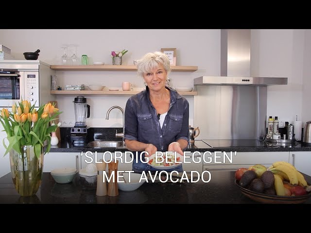 'Slordig beleggen' met avocado