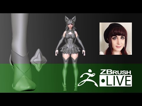 Blair Armitage - Character Sculpting - Episode 5