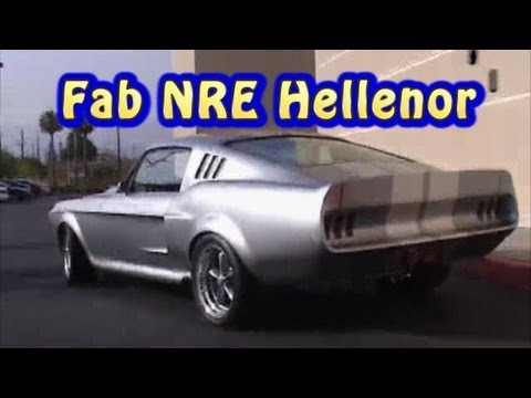Fab Hellenor Mustang Street Test from Nelson Racing Engines.  NRE.  Nelson Racing Engines.