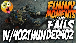 Black Ops 4 Blackout Funny Moments And Fails w/402THUNDER402