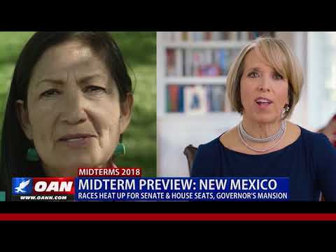 Midterm Preview: New Mexico -- Races Heat Up for Senate & House Seats
