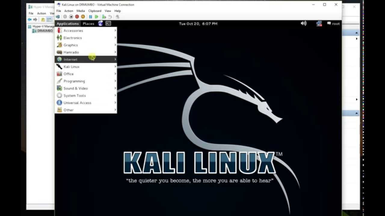 How to create a LIVE Kali Linux virtual machine in Windows Hyper-V